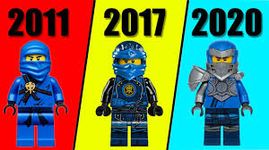 ALL LEGO NINJAGO Jay EVOLUTION + LEGO NINJAGO Season 1-13 - YouTube