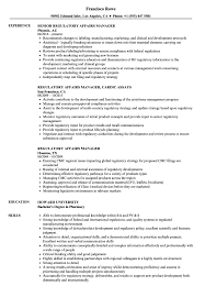 Regulatory Affairs Resume Sample Regulatory Affairs Manager Resume Samples Velvet Jobs 1