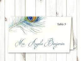 Fold Over Place Cards Fold Over Place Card Template Word Printable Wedding Cards Escort