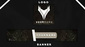 Youtube Logo Templates Youtube Banner Logo Template 1 Youtube