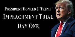 Image result for trump impeachment trial