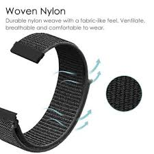 <b>20mm</b> nylon canvas <b>watch</b> band <b>watch</b> strap replacement for <b>amazfit</b> ...