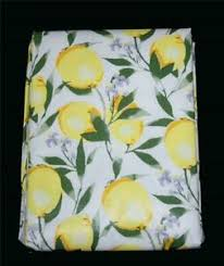 "Laura Ashley ""LEMON TWIST"" Vinyl Flannel Back Textured Tablecloth NIP You  Choose | eBay"