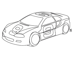 Small Picture Easy Race Car Coloring Pages Coloring Pages