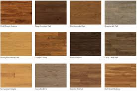 5 inch plank colors