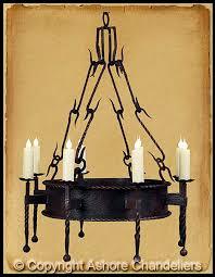 ch 1019 single tier lodge chandelier