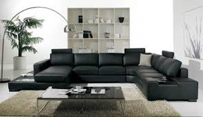 stylish furniture for living room. Enchanting Living Room Design With Black Leather Sofa Ideas Pictures Stylish Furniture Tips For