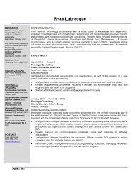 Best Business Analyst Resume Sample Cover Letter Sample