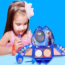 disney frozen kids makeup s toys for 8 years s games cosmetics princess makeup eye shadow