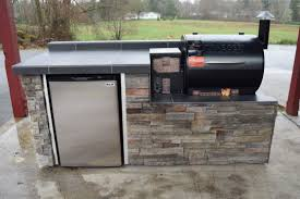 traeger built in. Delighful Built Outdoor Kitchen For The Traeger Pellet Grill  Sunset Living  LinkedIn Inside Built In