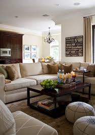 transitional living rooms with sectional