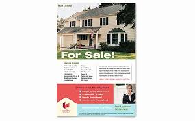 Real Estate Agent Flyer Template Shooters Journal