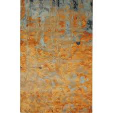 home decorators collection watercolor gold 8 ft x 11 ft area rug