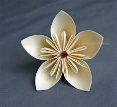 Paper Flower Origami Origami Flower Billies Craft Room