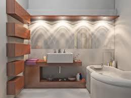 vanity lighting design. Modern White Shade Vanity Lighting In Bathroom Design And Single Rectangle Sink On Wall Mounted Wooden Facing Freestanding Bathtub G