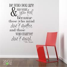be who your are dr seuss wall decals