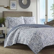 Amazon.com: Tommy Bahama Cape Verde Smoke Quilt Set, King, Smoke ... & Amazon.com: Tommy Bahama Cape Verde Smoke Quilt Set, King, Smoke: Home &  Kitchen Adamdwight.com