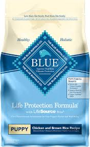 Blue Diamond Puppy Food Feeding Chart Blue Buffalo Life Protection Formula Puppy Chicken Brown Rice Recipe Dry Dog Food 6 Lb Bag