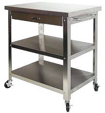 stainless steel kitchen carts on wheels with drawers