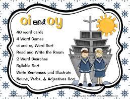 Sailing Through 1st Grade: Vowel Dipthongs: OI and OY