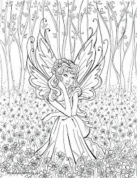 Coloring Pages Fairies And Unicorns Unicorn Coloring Pages For