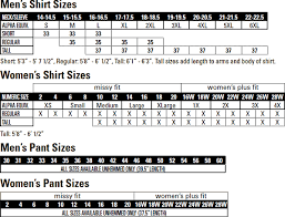 Women S 5 11 Tactical Pants Size Chart 16 Correct 5 11 Sizing Chart Jackets