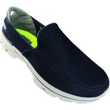 skechers dress shoes for men. men slip ons go walk 3 men\u0027s navy and grey on go pillars goga mat shoes navygray 4170989,skechers sale online,skechers size 12,new skechers dress for