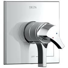 shower faucet with temperature control delta collection chrome monitor dual temperature and water pressure shower faucet
