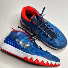 Us 32 99 2019 diy uncle drew kyrie irving canvas shoes customized adults walking shoes leisure lace up in men s casual shoes from shoes on. Nike Shoes Nike Kyrie Irving Independence Day Basketball Shoe Poshmark