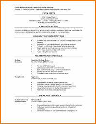 Resume For Office Job | Mhidglobal.org