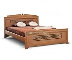 Резная двуспальная <b>кровать Афина</b> - мебель из дерева от ...