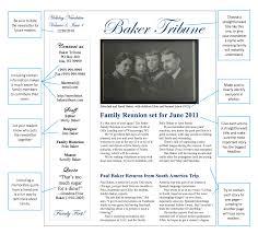 family newsletter start spreading the news write a family newsletter family tree