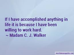 Madam Cj Walker Quotes Enchanting Madam C J Walker Quotes Top 48 Famous Quotes By Madam C J Walker