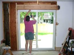 sliding door glass repair cost how much does it cost to install a sliding door glass cost to replace sliding glass door screen sliding glass door