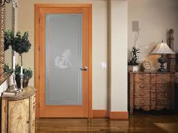 smoked glass interior door