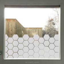 Glasdekorfolie Sechseck Fensterfolie Bienenwabe In 2019 Home