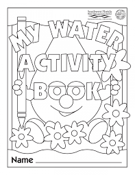 Simple Water Cycle Coloring Page Printable Coloring Page For Kids