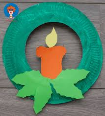 Paper Plate Christmas Crafts  Find Craft IdeasChristmas Paper Plate Crafts