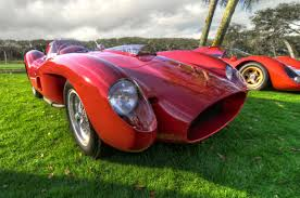 Mounted in the front and powering the rear wheels, this satisfied enzo's basic philosophy that the 'horse came before the cart.' 1958 Ferrari 335 Sport