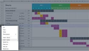 Gantt Chart Reddit Mastering Your Production Calendar Free Gantt Chart Excel