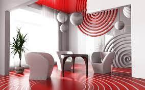 Modern living room interior ...