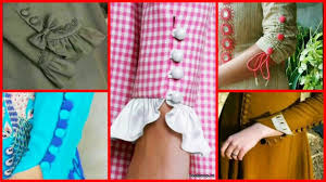 Latest Button Design Latest Classy Button Patti Sleeves Designs For Kurti Kurta