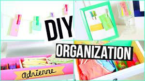 Diy Organization Diy Spring Organization Life Hacks Room Decor Youtube