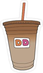 *extra charged hot and iced coffee contains additional green coffee extract to deliver 20% more caffeine than their original coffee or iced coffee. Amazon Com Story Storm Store Dunkin Donuts Iced Coffee Stickers 3 Pcs Pack Kitchen Dining