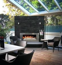 contemporary outdoor fireplace plans indoor flow with blog urban villa extension the modern outdoor fireplace