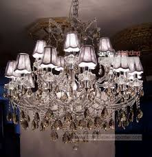 chandeliers lamp shades at crystal chandelier lighting ideas