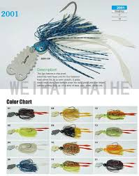 Fishing Skirted Jig Head With Chatter Blade View Spinner Bait Oem Product Details From Weihai Haihe Imp Imp Co Ltd On Alibaba Com