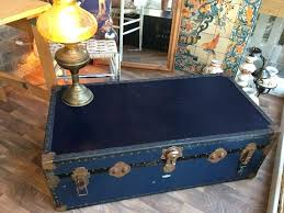 steamer trunk coffee table old travel trunk vintage steamer trunk coffee table cabin trunk steamer trunk coffee table pottery barn