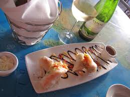 Chart House Cardiff Ca Seafood Lobster Spring Rolls At The Chart House In Cardiff By