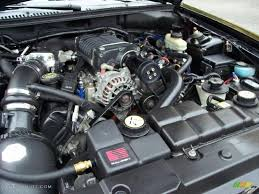 2001 Ford Mustang GT Convertible 4.6 Liter Supercharged SOHC 16 ...